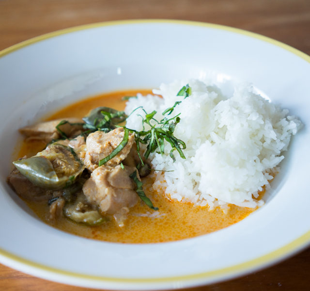 Instant Pot Smart – Thai Chicken & Eggplant Curry